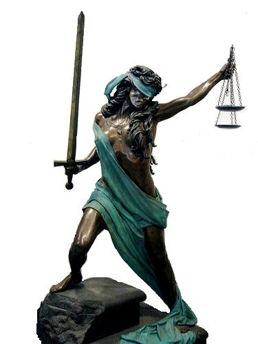 lady fucking justice