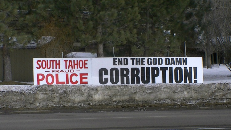 South Lake Tahoe Police - End the corruption