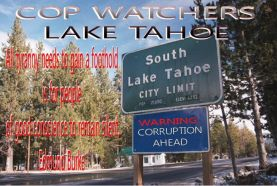Lake Tahoe cop watchers
