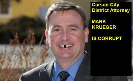 Carson City District Attorney Mark Krueger