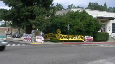 Vern Pierson protest