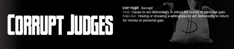 corrupt judge