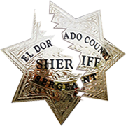 El Dorado Sheriff Badge